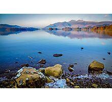Cold Derwentwater Dawn Photographic Print
