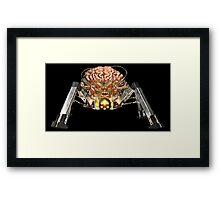 Spider Mastermind Framed Print