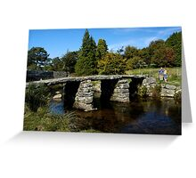 Ancient Dartmoor Clapper Greeting Card