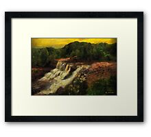 Early Autumn Gold Framed Print