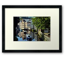 Reflections of the Past Framed Print
