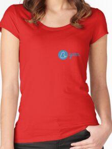 Yarn Logo Women's Fitted Scoop T-Shirt