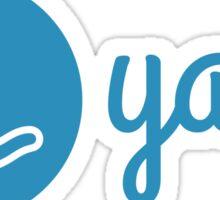 Yarn Logo Sticker