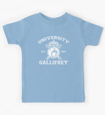 University of Gallifrey Kids Tee