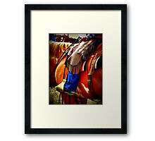 Boots & Chaps Framed Print