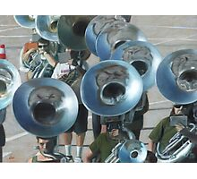 Ten Tubas Photographic Print