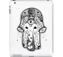Hippie Elephant Hamsa iPad Case/Skin