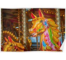 A Carousel Horse Named Willy Poster
