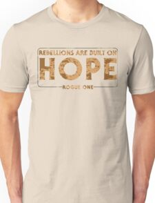 Built On Hope Unisex T-Shirt