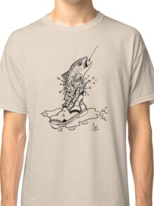 Fish in Boot Classic T-Shirt