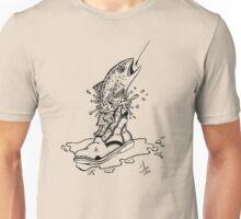 Fish in Boot Unisex T-Shirt