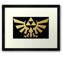 Zelda - Triforce Framed Print