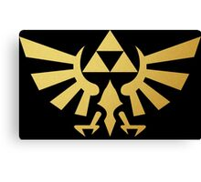 Zelda - Triforce Canvas Print