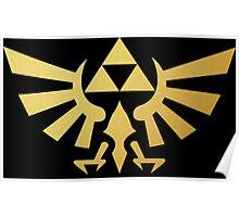 Zelda - Triforce Poster