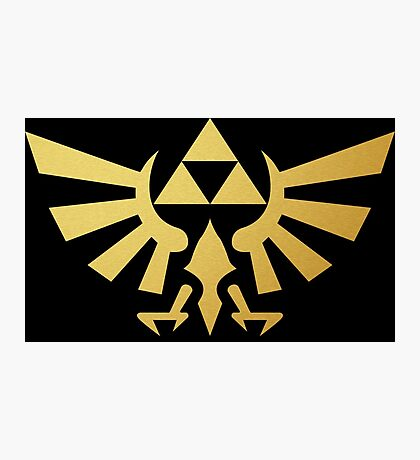 Zelda - Triforce Photographic Print