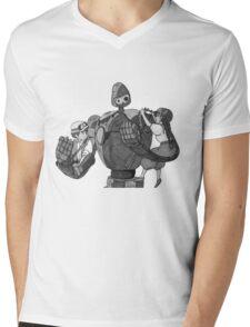 Laputa; Castle In The Sky Mens V-Neck T-Shirt