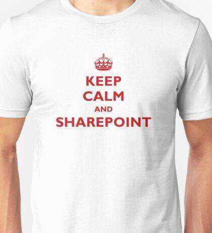 Keep Calm And SharePoint Unisex T-Shirt