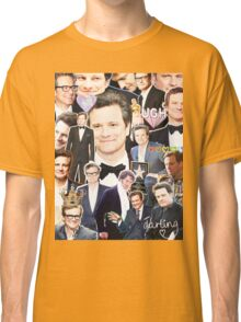 colin firth collage Classic T-Shirt