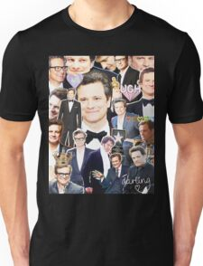 colin firth collage Unisex T-Shirt