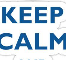 Keep Calm And PowerShell Sticker