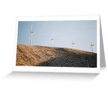 Tehachapi Pass Wind Farm Greeting Card