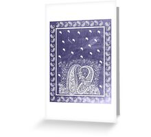 Weathered Bandana  Greeting Card