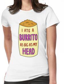Burrito Womens Fitted T-Shirt
