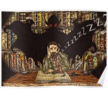 Bram Stoker - Author of Dracula Poster