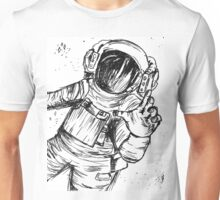 Falling Through Space Unisex T-Shirt