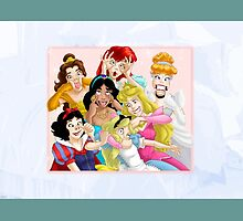 Not So Serious Princesses by erinsheeranx