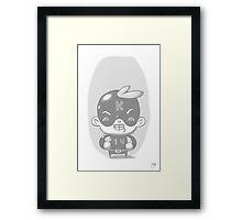 Kaptain 14 Whiteout Edition Framed Print