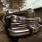 Abandoned 1948 Cadillac Limo by mal-photography