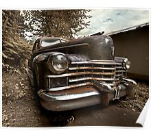 Abandoned 1948 Cadillac Limo Poster