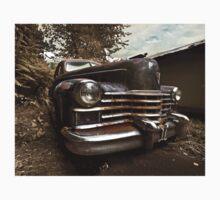 Abandoned 1948 Cadillac Limo Kids Tee