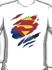 torn t-shirt Superman T-Shirt