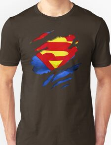 torn t-shirt Superman T-Shirt