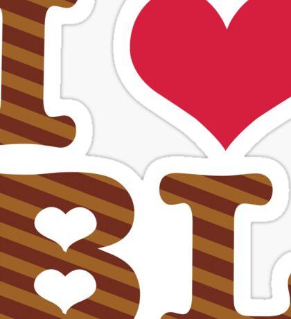 I heart BL Sticker