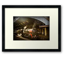 City of Melbourne Steam Train #4 Framed Print