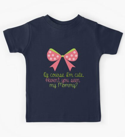 Baby Girl Bow Kids Tee