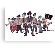 The Lost Boys from 'Hook' (1991) Canvas Print