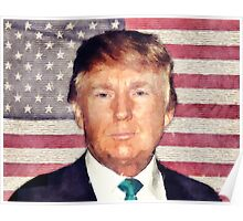Donald Trump Patriot Poster
