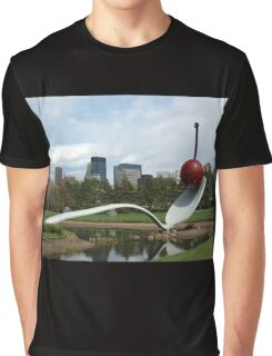 Spoon & Cherry Sculpture Graphic T-Shirt