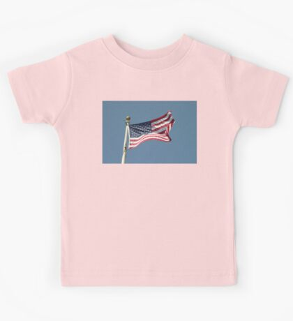 USA Flag Kids Tee