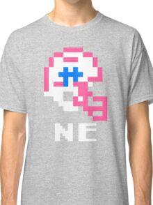 Tecmo Bowl New England Football 8-Bit NES Nintendo Pixel T Shirt Classic T-Shirt