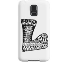 "Hipster Letter ""L"" Zentangle Samsung Galaxy Case/Skin"