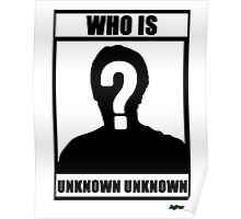 JafreeseBros- Who Is Unknown Unknown? Poster