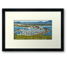 Five Hundred Thousands Views. Coffs Harbour Marina. Framed Print