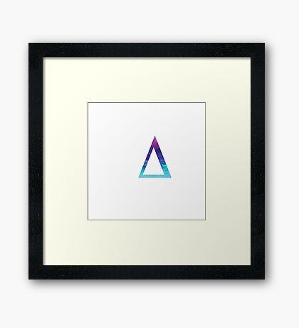 Delta Framed Print