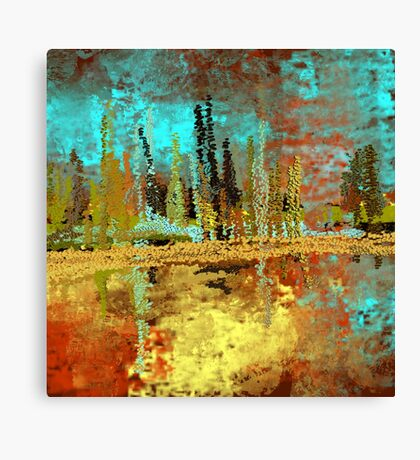 Autumn Landscape Impressionism Art Design Canvas Print