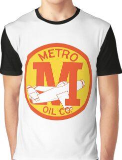 Metro Oil Company Vintage Tshirt Graphic T-Shirt